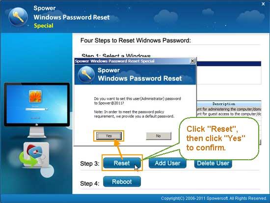 Reset Windows Server 2012/2008 Admin Password on Dell